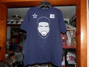 Dallas Cowboys Zeke Elliott #21 Boys Youth T-Shirt Med 12/14 Or Large 16/18