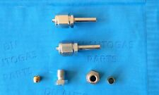 2 x LPG Autogas 6mm Flexible Pipe Fitting , Ends, FARO TYPE Connector,straight