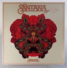 Santana Festival NM Vinyl Columbia 34423 1st Press Custom Sleeve & Label 1977