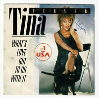 "Tina Turner Vinyl 45 RPM 7 "" WHAT'S Love Got To Do With It N°1 U.S.A Capitol"