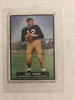 1951 Topps Magic #2 Bill Wade QB Vanderbilt Commodores Set Break