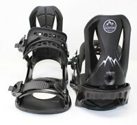ALTITUDE 4X4 Burton Mounting 3D EST Snowboard Bindings Black (S/M 5-8) Men's
