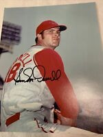Sam McDowell Cleveland Indians Signed 8x10 Photo Autograph