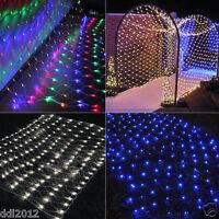 3Mx3M String Fairy Lights Net Mesh Curtain Chrismas Wedding Party Home Drecor