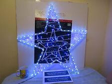 Noël scintillants star silouete extérieur ou intérieur de noël lumière jardin