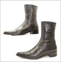 Semog Bottines Pointu Cuir Marron T38 TBE