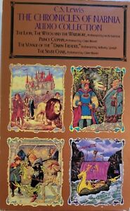 The Chronicles of Narnia by C.S. Lewis Audio Collection 4 Cassettes abridged