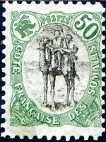 COLONIES CÔTE DES SOMALIS N° 62 NEUF*