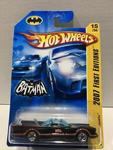Batmobile Hot wheels 2007 First Editions Batman 1966 TV Series 15/36 015/156 DC