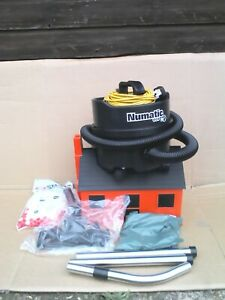2021 Numatic Henry Black ERP180 Commercial Bagged Vacuum Cleaner C/W Tools, Bags
