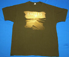 The Eagles Long Road Out of Eden 2008 Concert Tour T-Shirt Brown size Xl