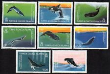 Turks & Caicos Whales Sc. #564-571 SG #745-752 MNH