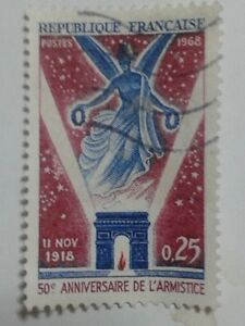 FRENCH STAMP - 0.25