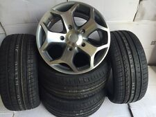 """18""""gm pol Ford Transit Alloy Wheels-Commercial Van MK6 /MK7/MK8-st with tyres"""