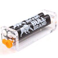 2 X Bull Brand Slim/Ultra Slim Cigarette Roller Combi Adjustable Rolling Machine