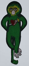 Embroidery Patch: Green Thug Monkey