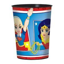 DC Super Hero Ragazze 16oz Bicchiere Di Plastica Compleanno Party Borsa Filler Loot favore
