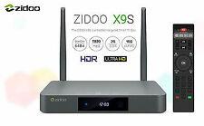 Zidoo X9S Ultrahd 4K HDR Android 6.0 2G/16G 802.11ac Wifi H.265 Media Player BT