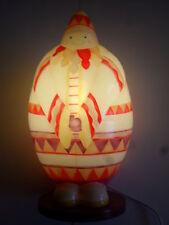 lampe à poser jovial bùdhi, esquimaux, l'oiseaux bateau (taille: 40X20cm)