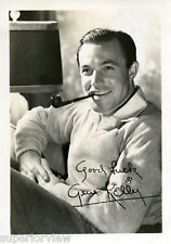 Dancing Legend Gene Kelly Hollywood Portrait Smoking Pipe Sweater MUST SEE