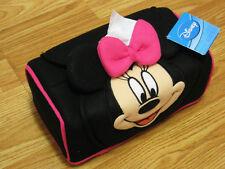 Minnie Mouse Disney Black Tissue Box Cover Paper Holder Storage Case #004
