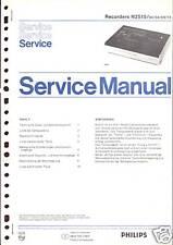 Philips Original Service Manual für Recorder N 2515