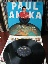 PAUL  ANKA  MY  HEART  SINGS  ABC 296  ORIG. 1959 LP