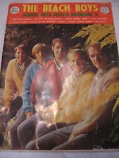 Beach Boys Song Hits Folio Number 2- Special Bonus Edit
