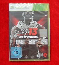 WWE '13 -- First Edition (Microsoft Xbox 360, 2012, DVD-Box)
