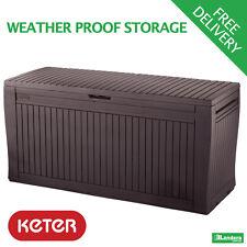 Comfy Deck Box by Keter - Garden Storage & Seating