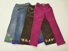 4 Gymboree Childrens Place Girls Size 4 Jeans & Corduroy Pants Great Condition