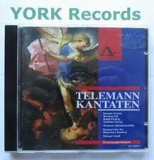 TELEMANN - Kantaten SCHOLL / GORZNY / VOSS / ESCHRIG / VIEWEG - Ex Con CD Amati