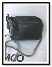 Mimco Leather MIM Supernatural BOX Hip Across body Hand Bag Brand New Black