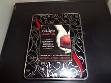Twilight Journals by Stephenie Meyer 2009 Hardcover New / Sealed Collectible Tin