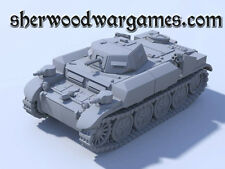 28mm German PzrII Flammpanzer Flamingo In Resin By Blitzkreig WWII Bolt Action,