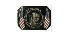 New listing Pow Mia Belt Buckle American Flag You Are Not Forgotten Usa Shipper