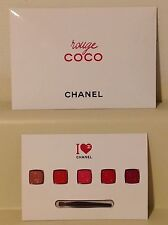 CHANEL I Love Coco Chanel 5 Shade Lip Color Palette - New / Sealed