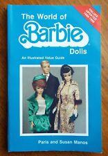 THE WORLD OF BARBIE DOLLS Price & Identification Guide BOOK Paris Manos