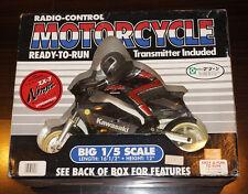 Vintage Royal RC 1/5 Bike Motorcycle Kawasaki ZX-7 Ninja RTR