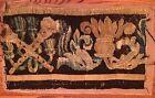 Antique Pair 18TH Century Tapestry Fragments II Belgian Vojtech Blau