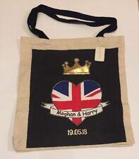 PRIMARK Prince Harry Meghan Markle Royal Wedding Tote Bag Duke Duchess of Sussex