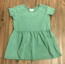 HANNA ANDERSSON Girl's Tunic Popover Top Green Shirt - Size 140 / 10 Yrs
