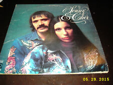 Sonny & Cher The Two of Us with Chastity Bono/Chaz Bono Original Bifold Vinyl