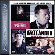 WALLANDER COLLECTED FILMS 14 - 20  **BRAND NEW DVD ****