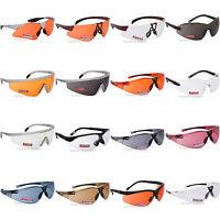 Regatta Cycling Glasses Sports Sunglasses UVA400 Safety Clear Orange Bicycle UK