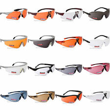 Regatta Cycling Glasses Sports Sunglasses UVA400 Safety Clear Orange Bicycle UK