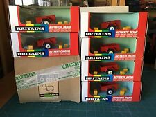 BRITAINS 1/32 6 UNITS MINI TRAILER EN LA CAJA DE FABRICA (9553) VER FOTO