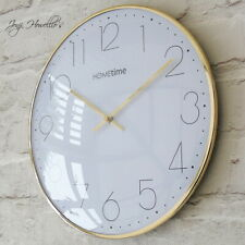 Country Living Hometime Wall Bracket Hanging Traditional Double Sided Clock