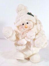New listing Christmas - Snowman Figurine Statue