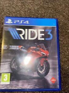 RIDE 3 (PlayStation 4, 2018)